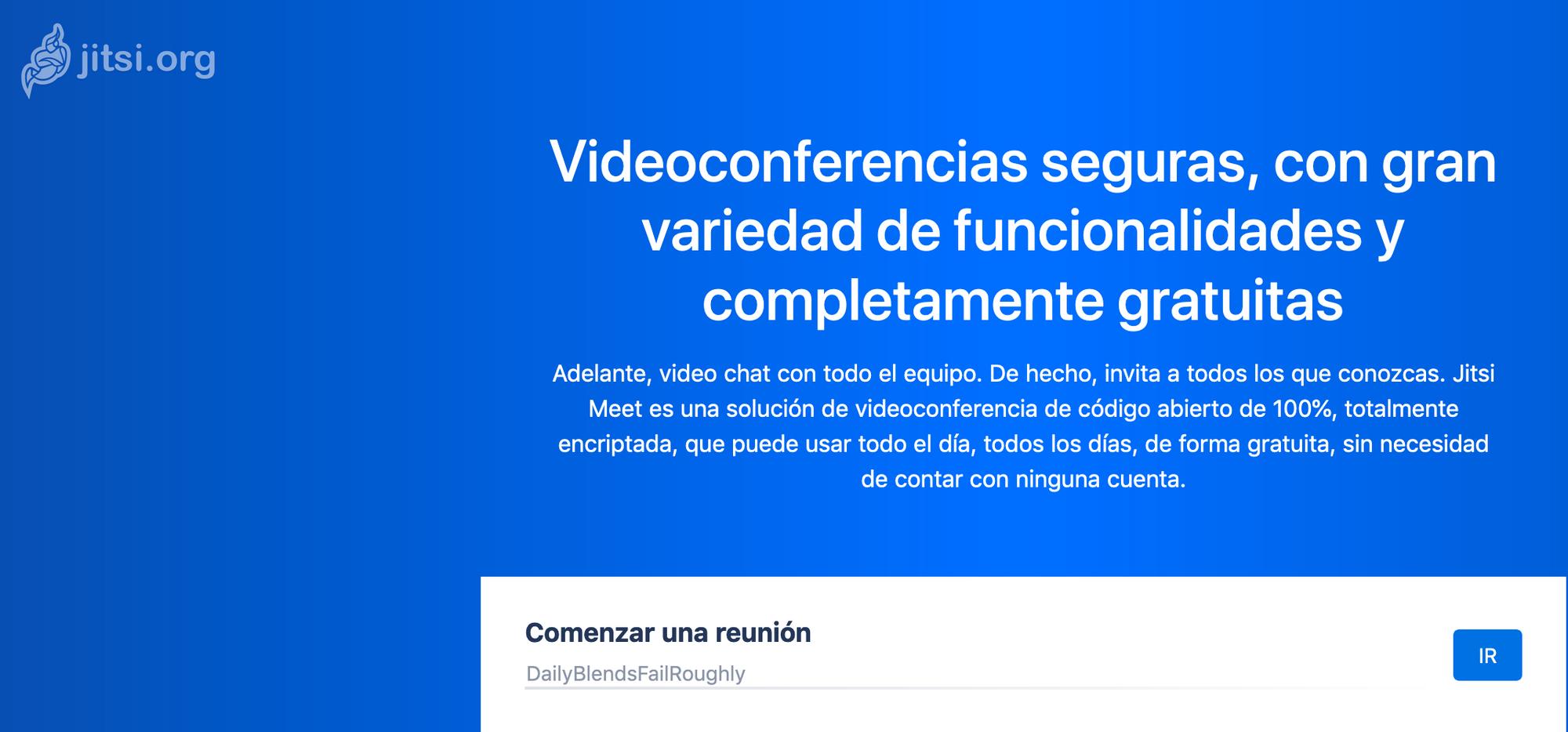 Videoconferencias con JITSI MEET, la alternativa libre para el teletrabajo.