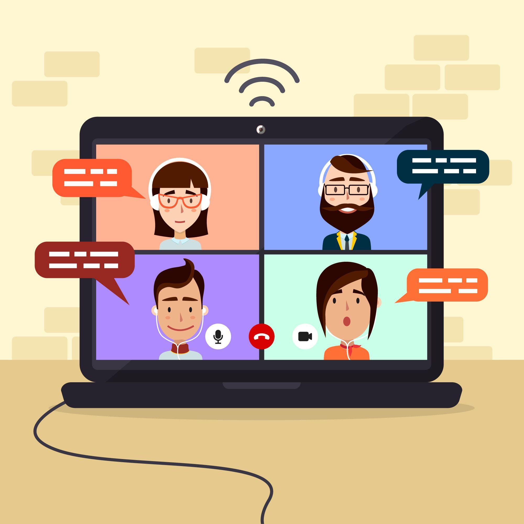 Videoconferencias parte III: Distintas aplicaciones para  teletrabajar.