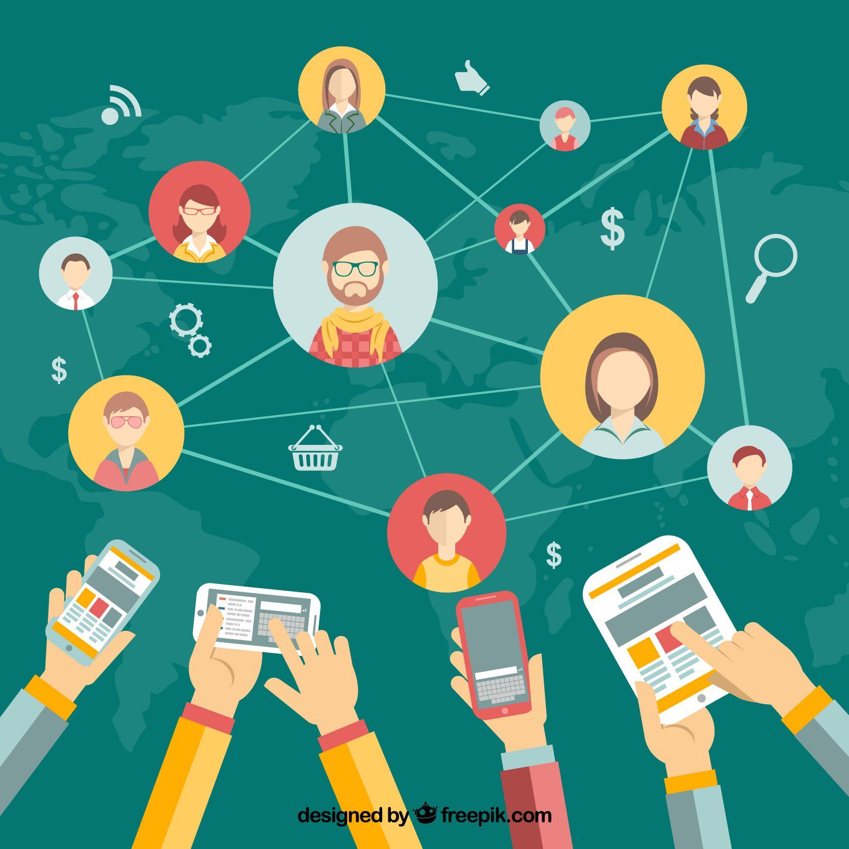 Networking: Aplicaciones para teletrabajar en tu red de profesionales.