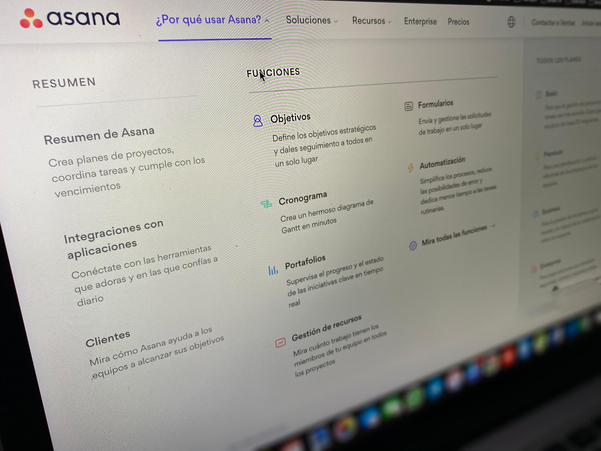 Asana: Tu gestor de proyectos empresarial para sobrellevar el teletrabajo