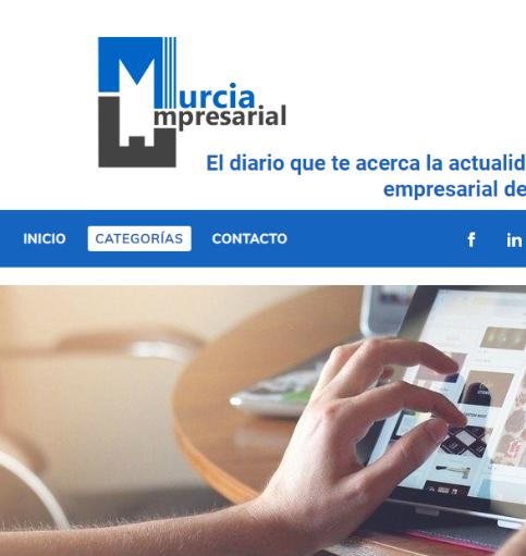 GOWtech crea MurciaEmpresarial, el diario digital para apoyar a empresas y comercios de la Región de Murcia