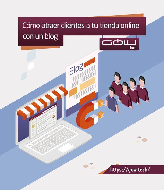 Cómo atraer clientes a tu tienda online con un Blog