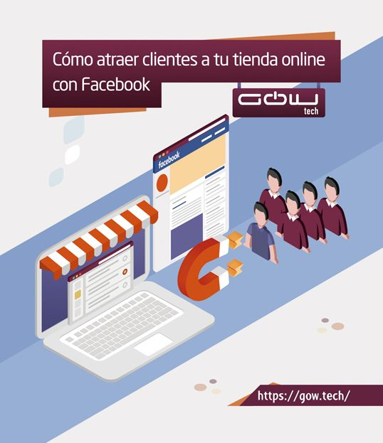 Cómo atraer clientes a tu tienda online con Facebook
