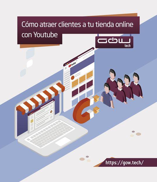 Cómo atraer clientes a tu tienda online con YouTube