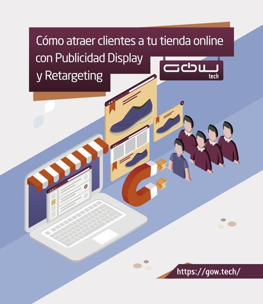 Cómo atraer clientes a tu tienda online con Publicidad Display y Retargeting