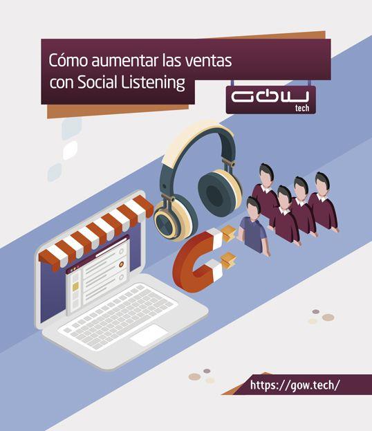 Cómo aumentar las ventas con Social Listening